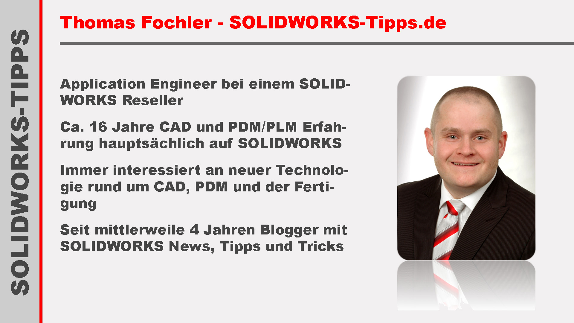 Thomas Fochler Vorstellung